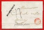 """GUYANE GRIFFE """"GUYANE FRANCAISE"""" SUR LETTRE DU 31/03/1841 DE CAYENNE POUR BORDEAUX - Guyane Française (1886-1949)"""