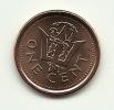 2009 - Barbados 1 Cent, - Barbados