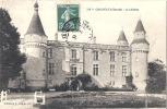 GRIGNOLS Le Château Joli Plan Avancé De L'entrée - Peu Courant - Bien Timbrée Excellent état - France