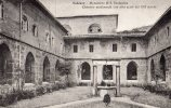 23085   Italia,  Subiaco,  Monastero  Di  S.  Scolastica,  Chiostro  Medioevale  Con  Arhi  Acuti  Del  XIII  Secolo  NV - Altre Città