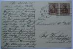 1915 DR GERMANY POSTCARD FROM BREMEN TO BAD HOMBURG - Deutschland