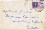 Carta PERUGIA (Italia) 1942. Arrivi E Partenza. Label Stamp, Viñeta - 1900-44 Vittorio Emanuele III