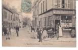 CPA ROMILLY-SUR-SEINE, Rue De L'École, Belle Animation, 1906 - Romilly-sur-Seine