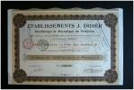 ETABLISSEMENTS J. DIDIER - DECOLLETAGE ET MECANIQUE DE PRECISION - LYON - Industrie