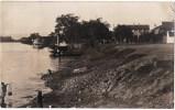 CARTE PHOTO : QUANG-YEN QUANG-NINH CHALOUPE STEAMER BATEAU BARQUE DE PECHE COCHINCHINE VIETNAM INDOCHINE 1906 - Vietnam