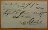 PREUSSEN  Vorphila Fulda 1810 Französischer Besatzungsbrief Mit L1 R2 FULD - Deutschland
