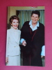 President Reagan With First Lady  In Pajama  After Assassintion Attempt  1981 In Hospital ---    ====== Ref 361 - Femmes Célèbres