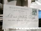 STORIA POSTALE BIGLIETTO POSTALE DA 5 CENTESIMI  29/11/1904 PER CITTA' NAPOLI  DN4013 - Interi Postali