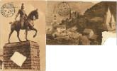 Lot Cartes Postales Chapelle Statue à Cheval Cologne Cöln 1914 - Köln