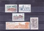 FRANCE  Y.T. N° 2401  à   2405  NEUF** - Unused Stamps