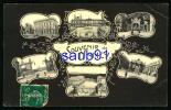 Souvenir De Nancy - Multivues -  1907  - Réf : 22376 - Nancy