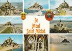 LE MONT SAINT MICHEL  Montage 8 Vues - Le Mont Saint Michel