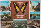 19268 SOUVENIR DE CHENNEVIERES SUR MARNE . MULTI-VUES  Papillon -1979 Franck - Chennevieres Sur Marne