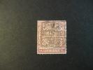 Nord Deutscher Bund Postbezirk 1/4 Gr B Violet Michel Nr 1 - North German Conf.