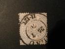 Nord Deutscher Bund Postbezirk 1869  2 Gr  Grijsblauw Michel Nr 17 - North German Conf.