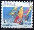 Australia 1989 10c Sailboarding Used - 1980-89 Elizabeth II