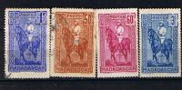 MADAGASCAR 1931  39 GENERAL J.S.GALLIENI 183 184  187  216 - Madagascar (1889-1960)