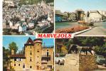 19275 Marvejols. Vue Generale, Place Soubeyran Multivues S2, Apa - Marvejols