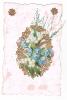 19279 Fantaisie, Bouquet Muguet Fleur Miosotys, Herbe - Manque Sans Doute Le Bas ! - Fêtes - Voeux