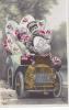 19280 Fantaisie, Oeuf  - Vieille Voiture - Chauffeur Enfant Croissant Le Normand 3453 - Pâques