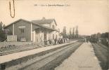 Cpa Gare De Jars-le-Noyer - Autres Communes