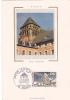 19301 Carte Postale Timbre Premier Jour Redon (35 France) Tour Romane 1987 2.20 Francs FDC Paris