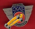 19740-Pin's.eagle Skateboard. - Skateboard