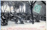 Toulon ( Var) L'Arsenal Maritime. Mitrailleuses Et Canons Chinois. - Ausrüstung