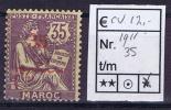 Maroc: Maury  35  Neuf*/MH - Maroc (1891-1956)