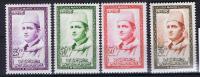 Maroc: Michel 411-414, 1956, Neuf**/MNH - Morocco (1956-...)
