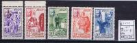 Maroc: Michel 415-419, 1956, Neuf**/MNH - Marokko (1956-...)