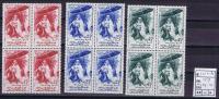 Maroc: Michel 439-441, 1959, Neuf**/MNH, Block Of 4 - Marokko (1956-...)
