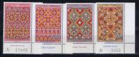 Maroc: Michel 624-27, 1968, Neuf**/MNH, Coin De Feulle