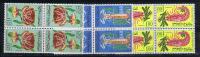 Maroc: Michel 553-555, 1965, Neuf**/MNH, Block Of 4, Cote € 58 - Marokko (1956-...)