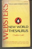 Charlton LAIRD : New World Thesaurus - Langue Anglaise/ Grammaire