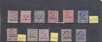 Talian Colonies  Eritrea -1903 King Victor Emmanuel Set MH-MNH - Eritrea