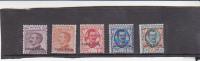 Talian Colonies  Eritrea -1928-28 Overprinted  Colonia Eritrea  Mint Light Hinged Set - Eritrea