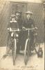 A Bicyclette - CARTE PHOTO - Cyclisme