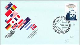 1983 - ANTARCTIQUE AUSTRALIEN - ENVELOPPE FDC - OBLITERATION MELBOURNE - FDC
