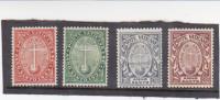 Vatican City-1933 Holy Year Set Mint Hinged - Vatican