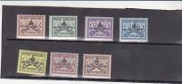 Vatican City-1939 Interregnum Set Mint Hinged - Vatican
