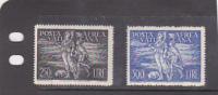 Vatican City-1948 Archangel Raphael And Tobia Set MNH - Vatican