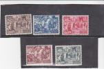 Vatican City-1951 Council Of Chalcedon Set Mint Hinged - Vatican