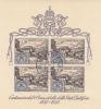 Vatican City-1952 1st Stamp Centenary Used Miniature Sheet - Vatican