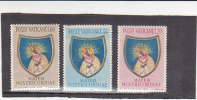 Vatican City-1954 End Of The Marian Year Sdet Mint Hinged - Vatican