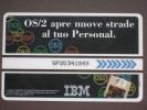 VIACARD 010 - IBM OS/2 - LIRE 50.000 - Altre Collezioni