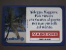 VIACARD 15 - MAGGIORE - LIRE 50.000 - Altre Collezioni
