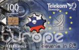 Slovénie, Telecom, Slovenie En EU,  Chip, - Slovénie