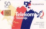 Slovénie, Telecom,   Chip, - Slovénie