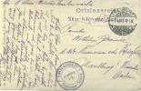 FELDPOST 1.WK FREIBURG 1915 ORTSLAZARETT STÜHLINGER SCHULE - Briefe U. Dokumente